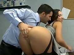 Lusty Secretary Has Her Pantie Pot Poked,By Blondelover
