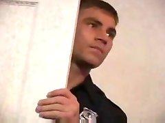 Police officer bathroom fuck