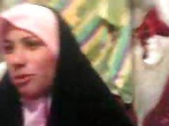 arab woman in store
