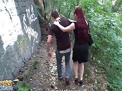 Russian redhead got us off