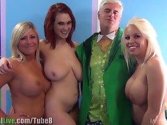 St. Patrick ' s pornstar orgija stranke! Vol.1