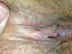 Pussy pulsating after cock