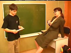 Russian Mature Teacher And Young Stud russian cumshots swallow