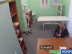 FakeHospital Stunning mature blonde patient gets the good doctors cock