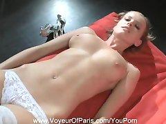 Nude Blonde MILF From Paris, France