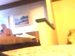 handjob in the hotel room
