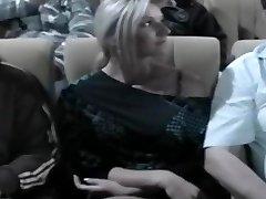 Nikki Caressed In The Cinema