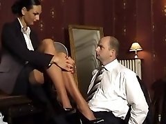 tall and arrogant domina Two