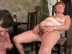 Grandmas piss