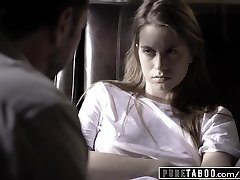 Unspoiled TABOO Jill Kassidy Tricked into Fucky-fucky by Doctor