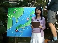 Name of Asian JAV Woman News Anchor?
