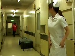 Nurse gets her milky pantyhose uncovered while sharking