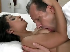 arab babe riding a white dude