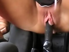 Squirting in a truck