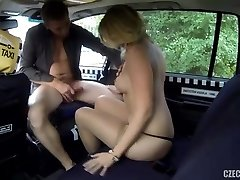 Russian milf checked by Taxi driver