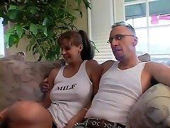 Exotic porn industry star Phyllisha Anne in hottest brunette, blowjob sex scene