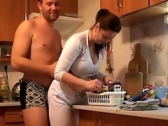 busty czech amateur banging around the house by eliman