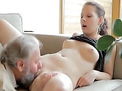 Horny old man fucks sonny's girlfriend