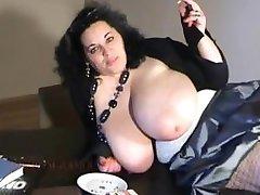 BIANCA BLOOM big boobs smoking