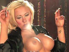 Unbelievably hot Terri Hawke Smoking Preview