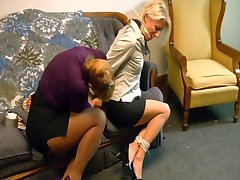 Lesbian Captures MILF to Sell Her