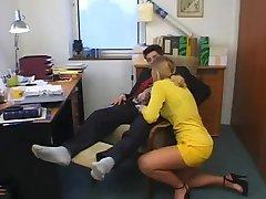 Office girl anal