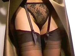 Satin Lace and Suspenders