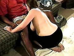 Busty redhead wife goes black 1