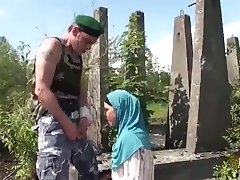 Arabian Wives prefer the BNP or Big Nordic Penis of Western Soldiers as Oriental Arab Dick is too Small