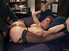 Slave Training a Nympho Anal MILF, Final Day