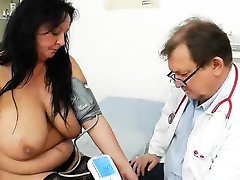 Adult Toy in muff during a wife gyno