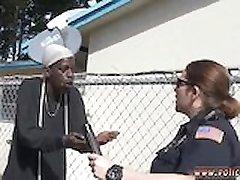 Cop bondage, kneblet Innenlandske Forstyrrelse Samtale