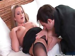 Amazing Colette in sexy lingerie loves part1