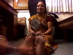 Mature Indian Lady Tickled