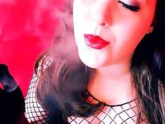 hanske elskerinne røyking