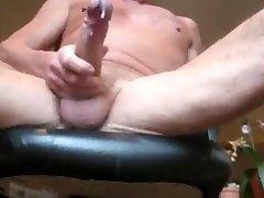 Oudere Vader Cumming Hot