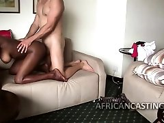 Getting his man rod firm by sucking him off got him horny so