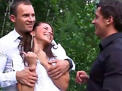 DP GroupSex with Bride Zo Ya