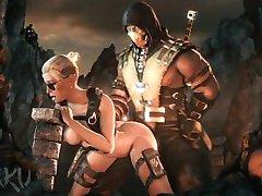 Mortal Kombat XXX Cassie Cage SFM Zusammenstellung
