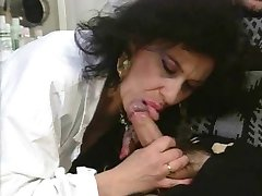 Mature Italian Blowjob