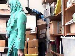Shoplyfter- Steamy Muslim Nubile Caught & Harassed