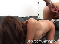Big Tit Stripper Ass Fucked on Casting Couch