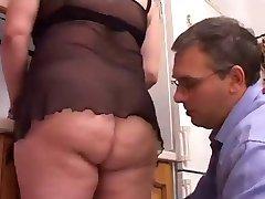 BBW Krásy Kuchyňa Sex