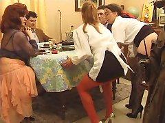 La-brunetka taśma SE-la famille