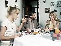 Classic porn from 1981 with these horny babes getting boned