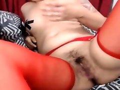 Smoking fetish masturbation