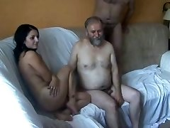 18y Teen fucked by 5 Aged Men