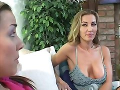 Babysitter Learns How To Ride A Cock