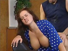 Sandra Brust i sitt andre scene i Schmutzig Geil und Hemmungslos -FranzHalz-
