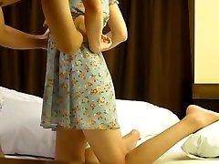 Coreano b-modello di prostituzione caught on hidden cam 9a